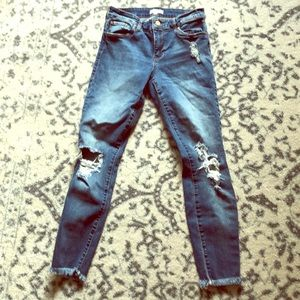 BP Distressed jeans size 27